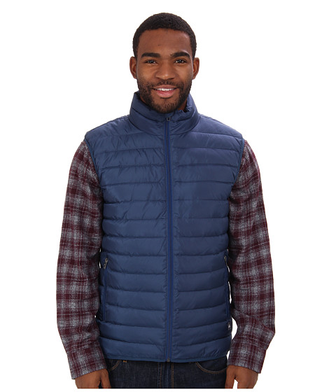 Quiksilver - Scaly Gilet Vest Jacket (Washed Navy) Men's Vest