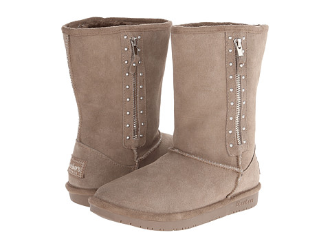 SKECHERS - Shelby's-Zip (Taupe) Women's Zip Boots