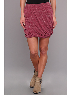 SALE! $26.99 - Save $21 on Free People Twisted Bubble Skirt (Cranberry) Apparel - 43.77% OFF $48.00