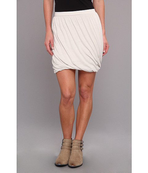 Free People - Twisted Bubble Skirt (Oatmeal Combo) Women