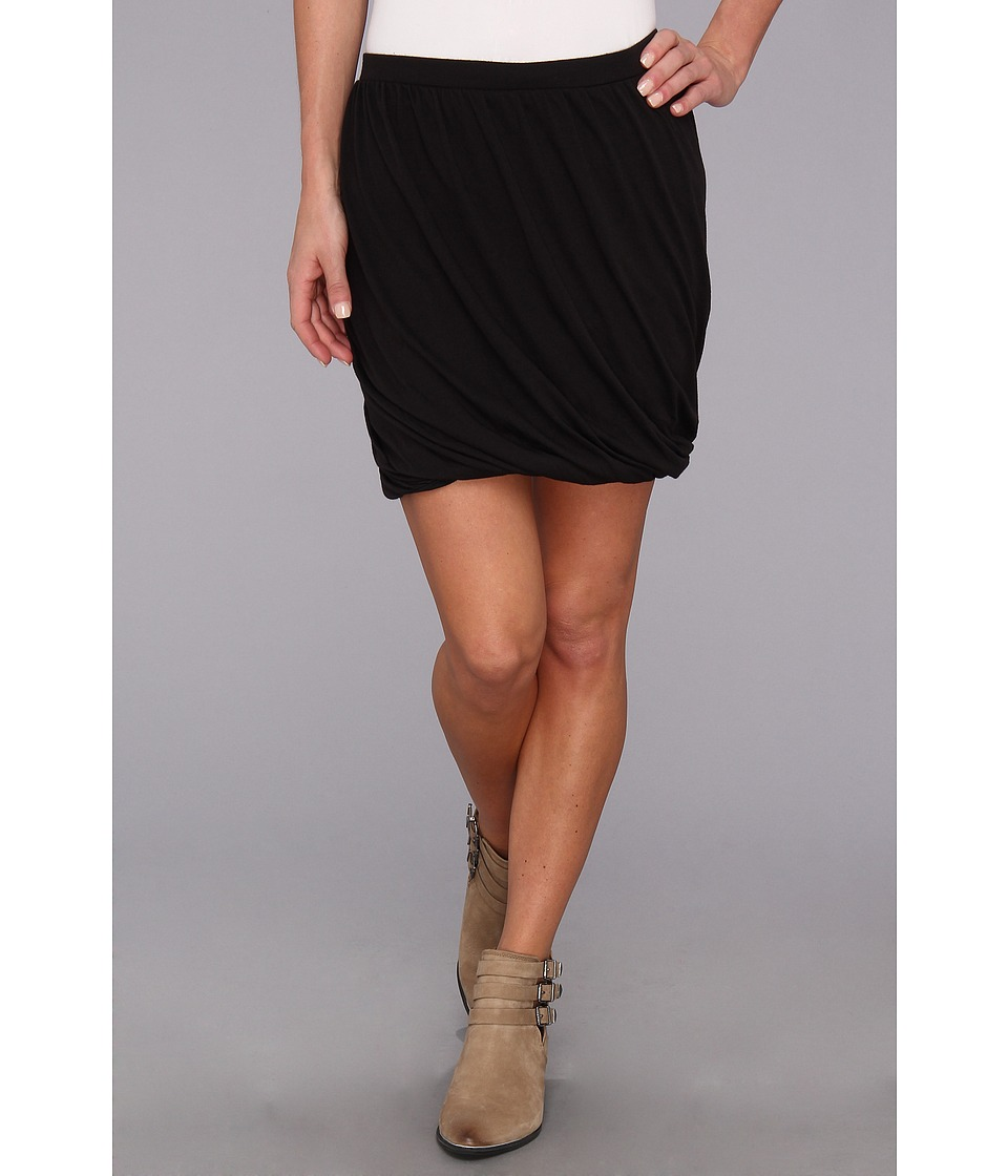 Free People - Twisted Bubble Skirt (Black Combo) Women's Skirt