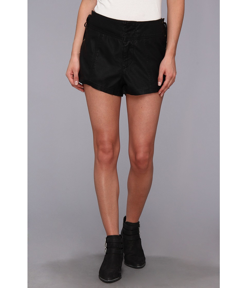 Free People - High Waist Short (Black) Women