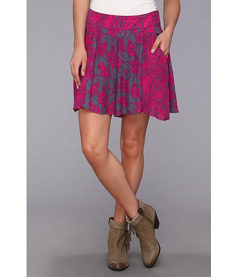 Free People - High Rise Culotte Short (Vivid Purple Combo) Women's Shorts