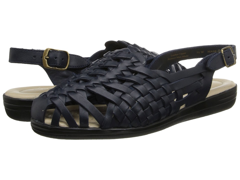Softspots - Tobago (Navy) Women's Shoes