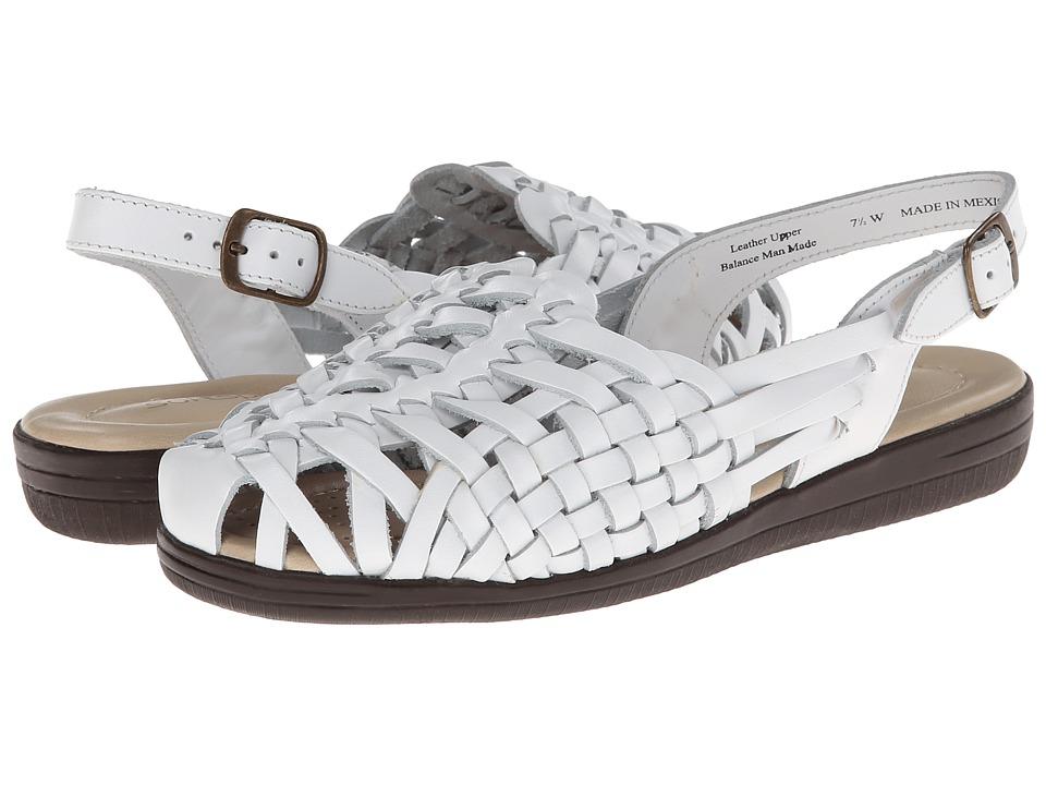 Comfortiva - Tobago - Soft Spots (White) Women's Shoes