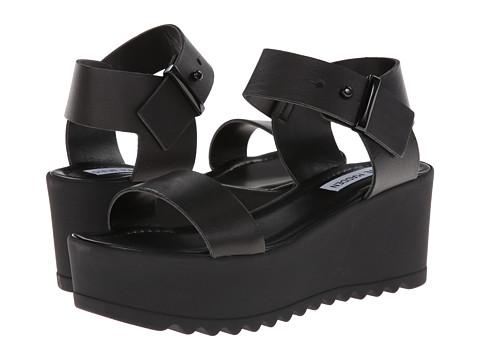 4d4d40342aa4 ... UPC 887474588537 product image for Steve Madden Surfside (Black)  Women s Wedge Shoes