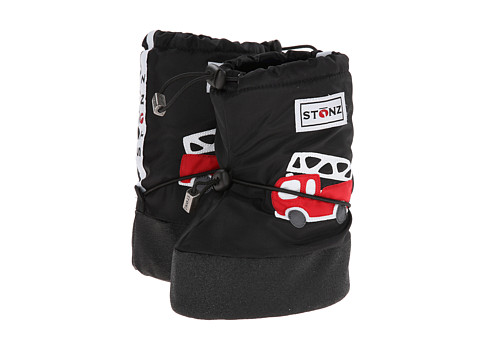 Stonz - Booties (Toddler) (Fire Truck/Black) Boys Shoes