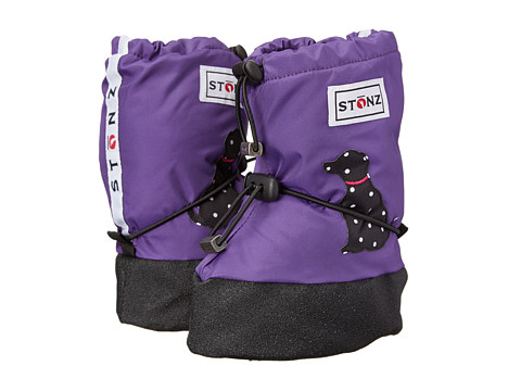 Stonz - Booties (Toddler) (Polka Dog/Purple) Girls Shoes