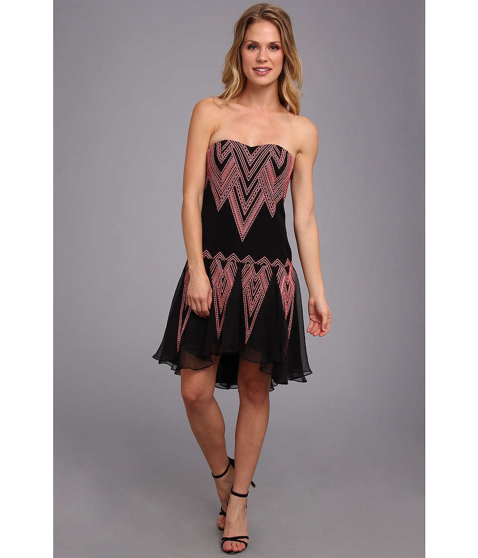 Free People - Radiating Angles Dress (Black Combo) Women's Dress