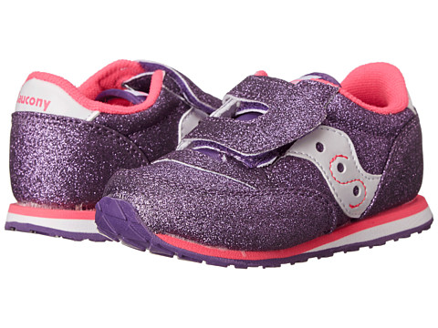 Saucony Kids - Jazz HL (Toddler/Little Kid) (Purple) Kids Shoes