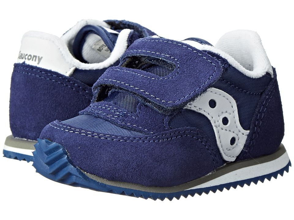 Saucony Kids - Baby Jazz Crib (Infant) (Cobalt Blue) Boys Shoes