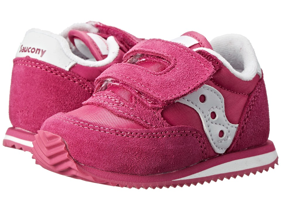 Saucony Kids - Baby Jazz Crib (Infant) (Paradise Pink) Girls Shoes
