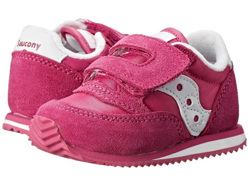 Saucony Kids Baby Jazz Crib (Infant) (Paradise Pink) Girls Shoes