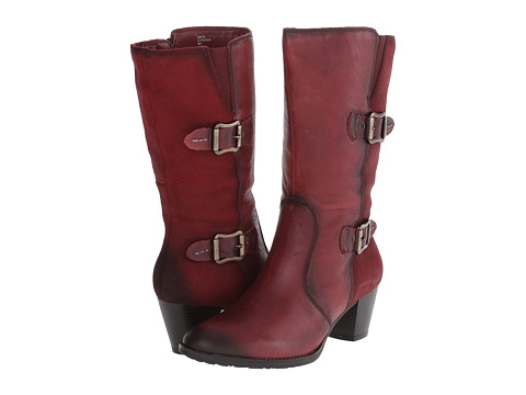 Earth - Larch (Bordeaux Tumbled Leather) Women's Boots