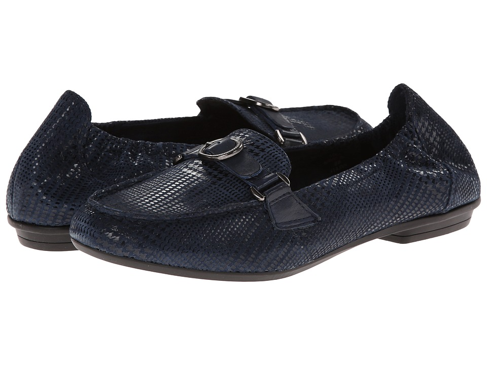 Earth - Scout (Navy Blue Printed Suede) Women