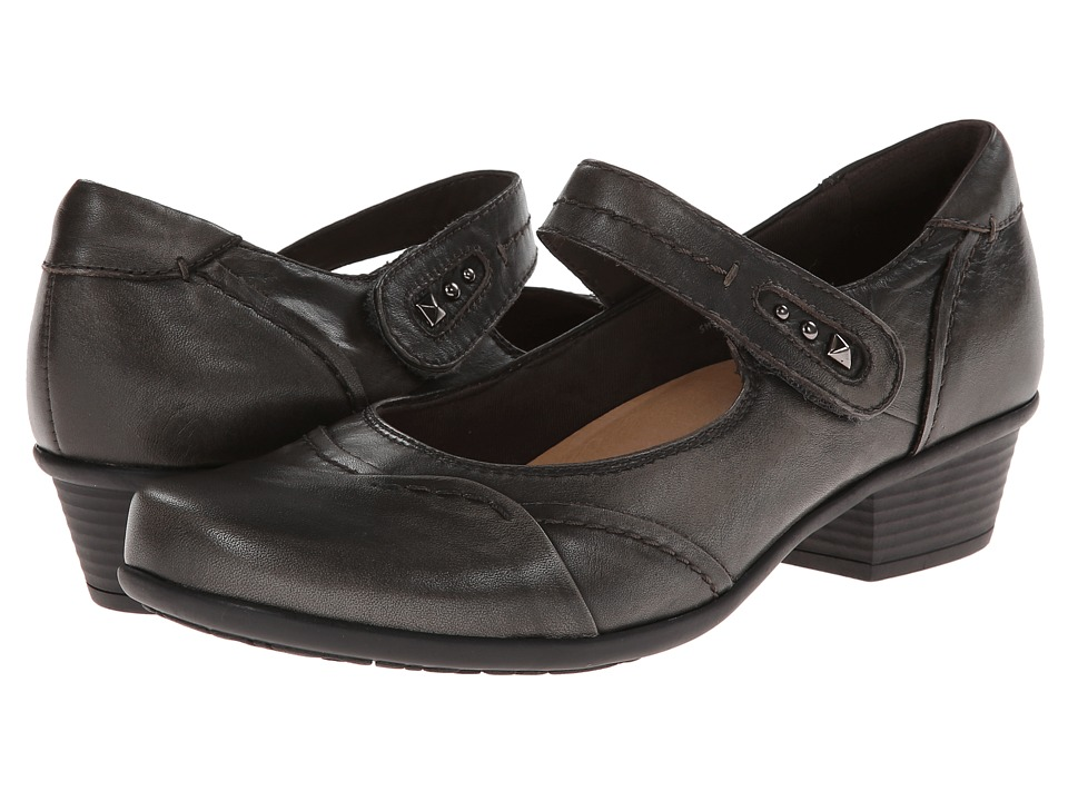 Earth - Clover (Grey Brush Off Leather) Women's Shoes