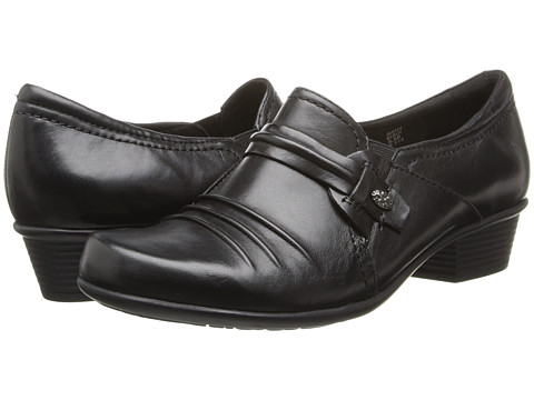 Earth - Maize (Black Calf Leather) Women's Shoes