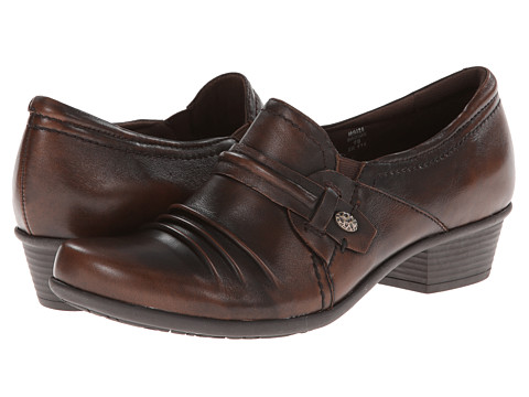 Earth - Maize (Brown Brush Off Leather) Women's Shoes