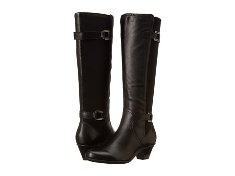 Earth - Rider (Black Calf Leather) Women's Boots