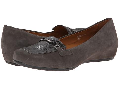 Earthies - Alora (Dusty Grey Suede) Women's Slip on Shoes