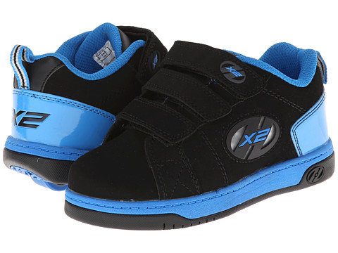 Heelys - Speed 2.0 (Little Kid/Big Kid/Men's) (Black/Blue) Boys Shoes