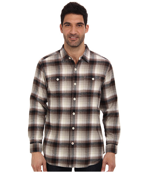 Tommy Bahama - Fauntleroy Flannel L/S Shirt (Sandrock) Men