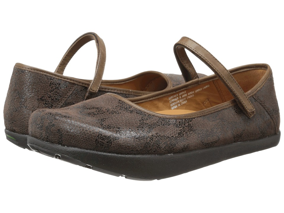 Kalso Earth - Solar 3 (Bark Printed Suede) Women's Shoes