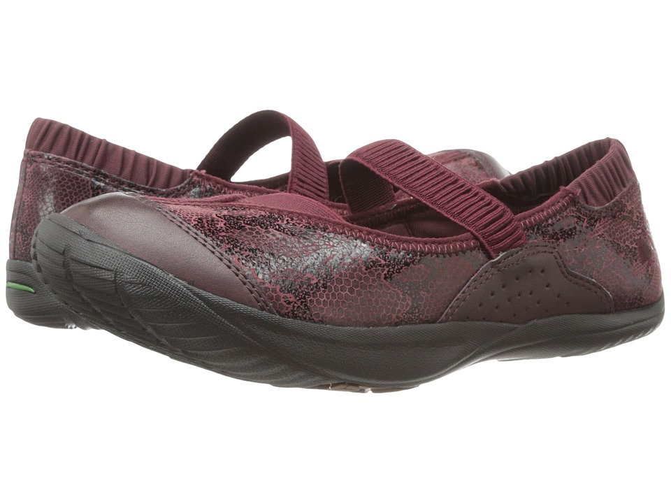 Kalso Earth - Intrigue Too (Merlot Printed Suede) Women