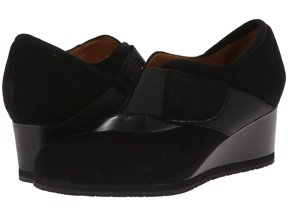 Earthies - Bondy (Black Suede) Women