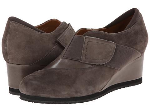 Earthies - Bondy (Dusty Grey Suede) Women's Slip on Shoes