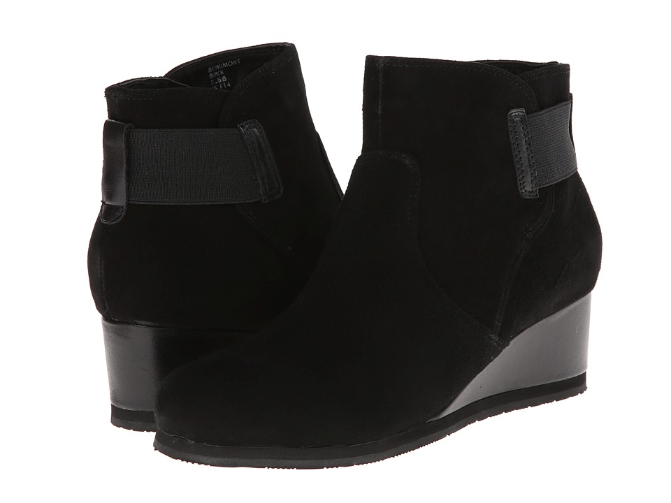 Earth - Beaumont (Black Suede) Women
