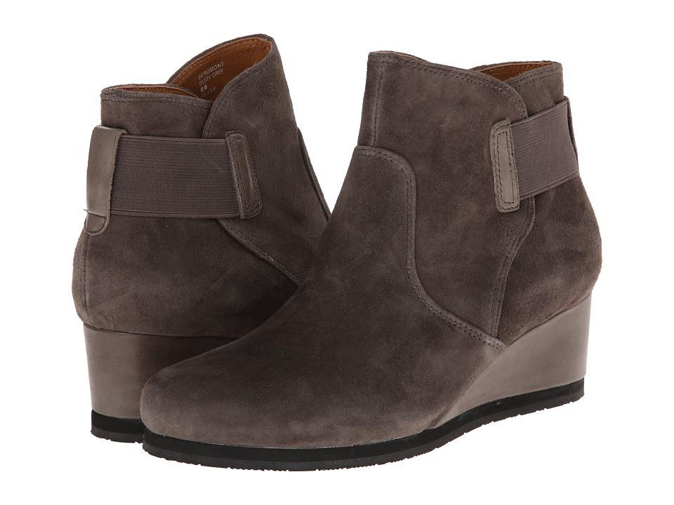 Earth - Beaumont (Dusty Grey Suede) Women's Slip on Shoes