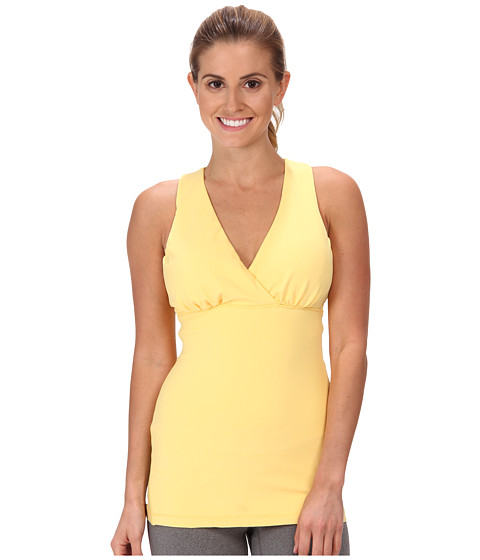 MSP by Miraclesuit - Essentials Tummy Control Crossover Tank (Lemon Chiffon) Women