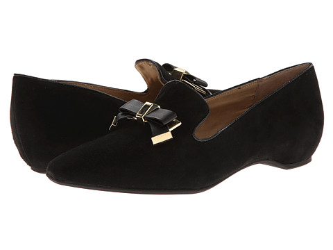 Isaac Mizrahi New York - French (Black Suede) Women's Shoes