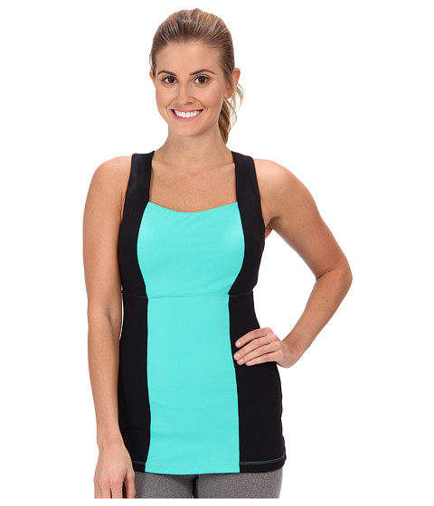 MSP by Miraclesuit - Stripes Brights Color Block Tank Top (Mint Julep) Women's Sleeveless