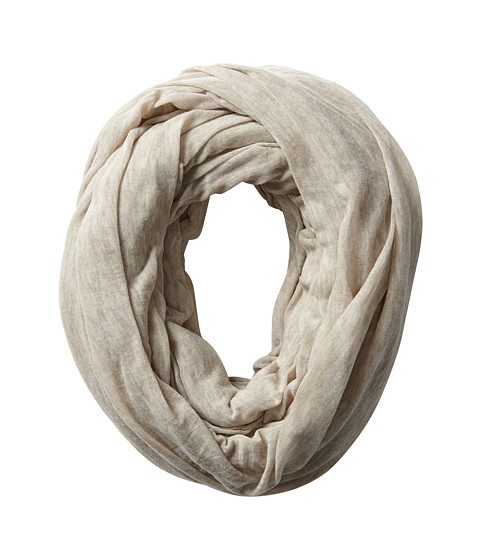 Calvin Klein - Ultra Sheer Super Infinity (Heathered Almond) Scarves