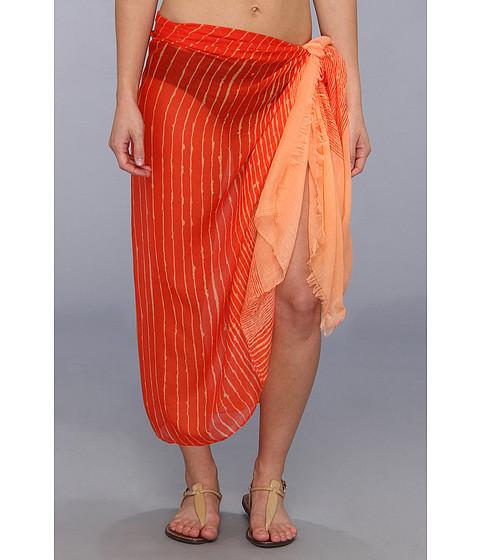 Calvin Klein - Ink Stroke Pareo (Firefly) Scarves