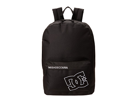 DC - Bunker Solid Backpack (Black) Backpack Bags