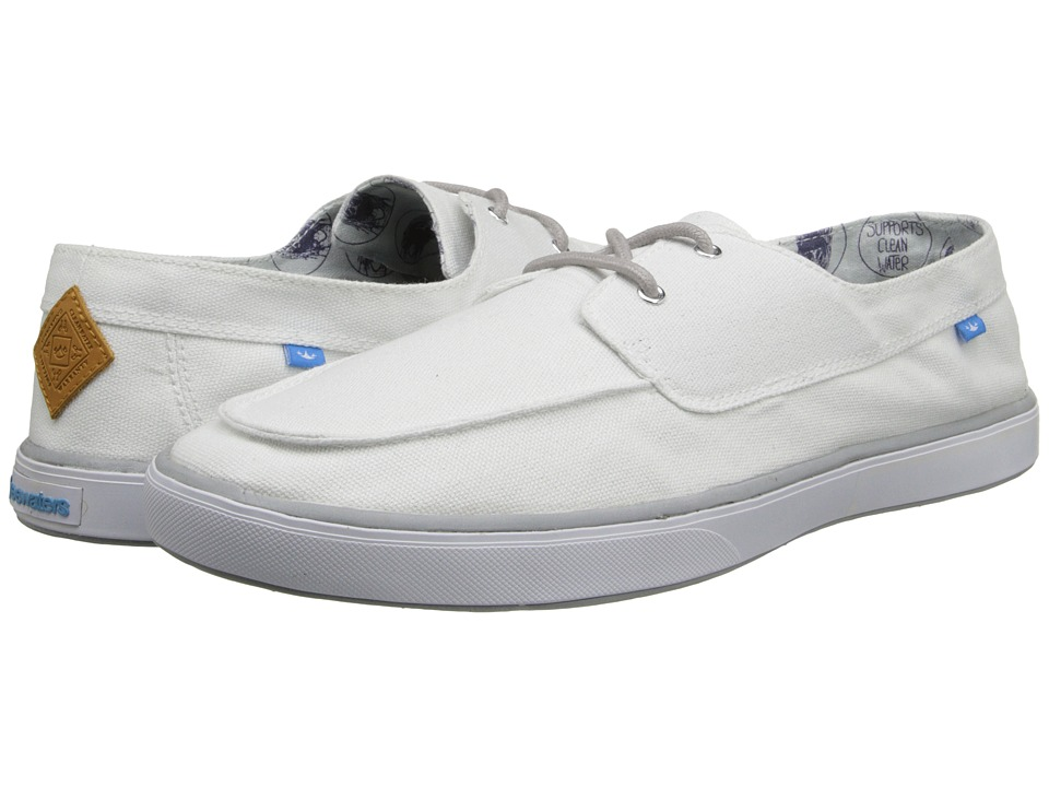 Freewaters - Captain (White) Men's Shoes