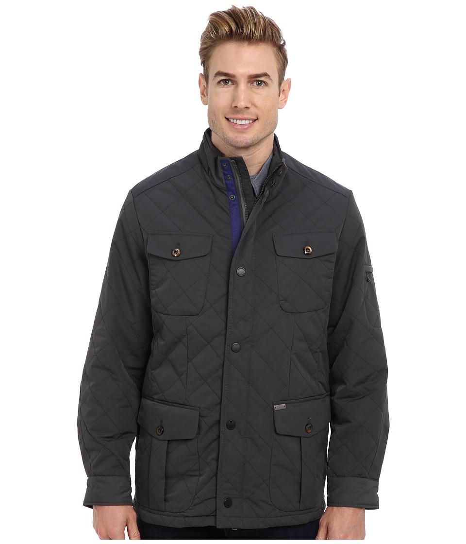 Tommy Bahama - Sheffield Jacket (Onyx) Men's Coat