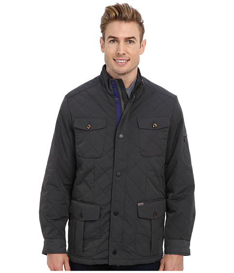 Tommy Bahama - Sheffield Jacket (Onyx) Men's Coat