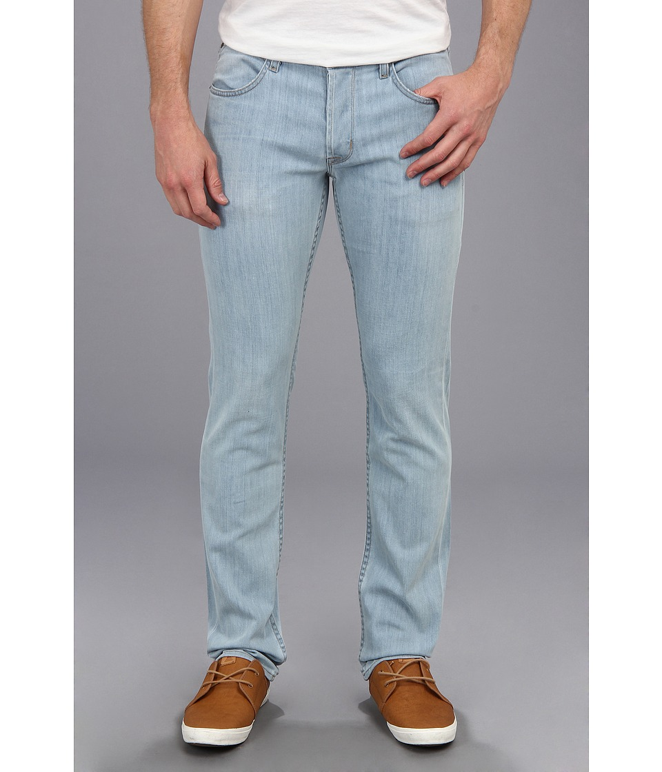 Hudson - Blake Five-Pocket Slim Straight Jean in Methane Sea (Methane Sea) Men