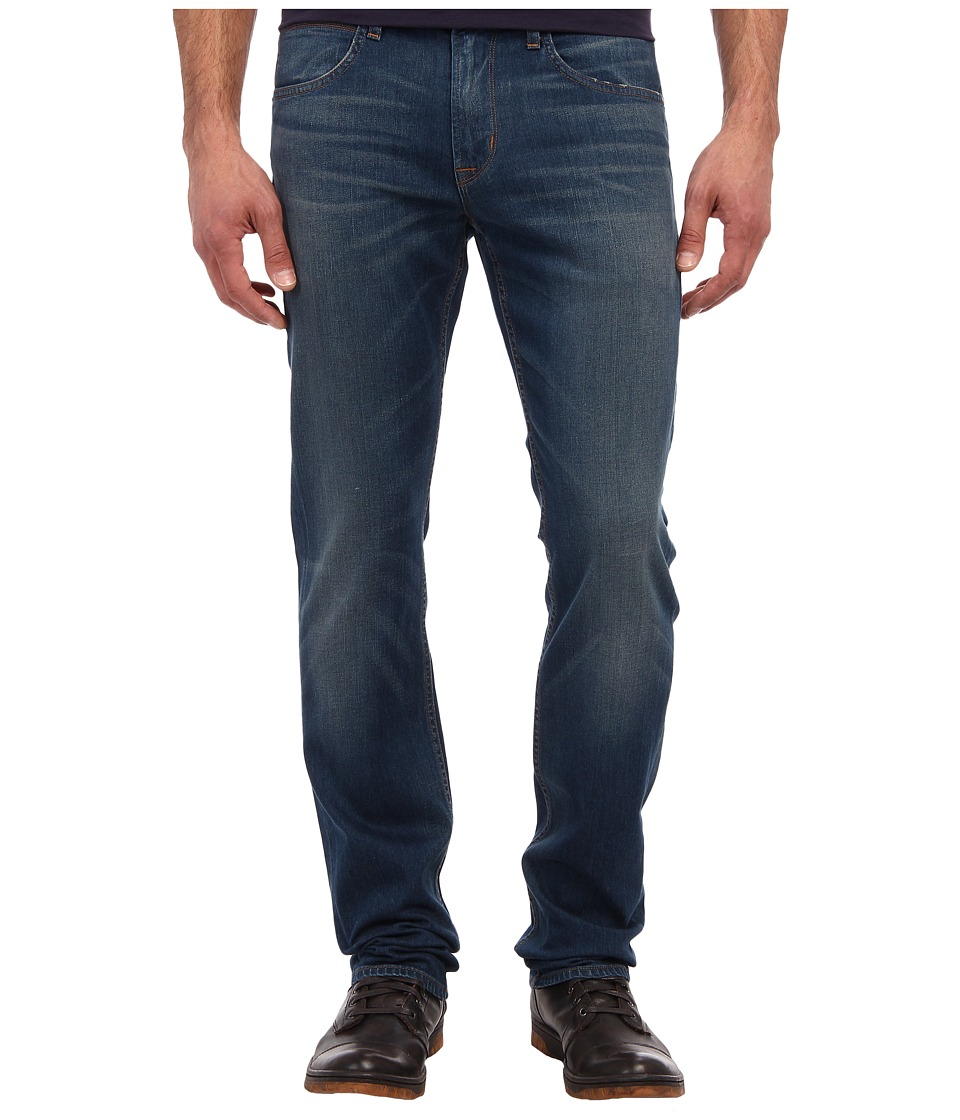 Hudson - Byron Five-Pocket Straight Leg in Boneyard (Boneyard) Men