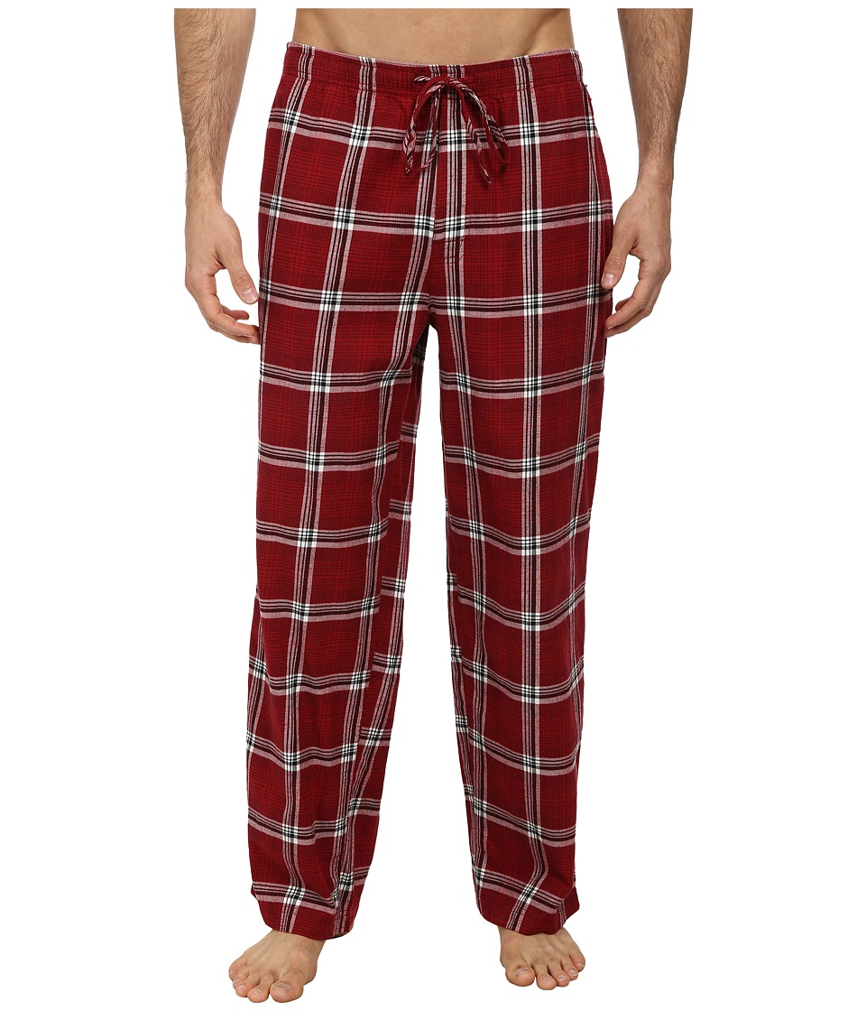 Life is good - Classic Sleep Pant (Holiday Red Plaid) Men