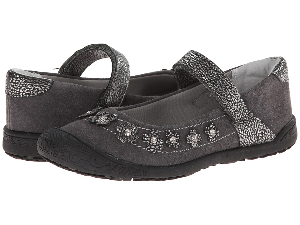 Jumping Jacks Kids - Comet (Toddler/Little Kid) (Pewter Suede) Girls Shoes
