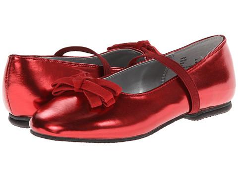 Jumping Jacks Kids - Piper (Toddler/Little Kid/Big Kid) (Red Metallic) Girls Shoes