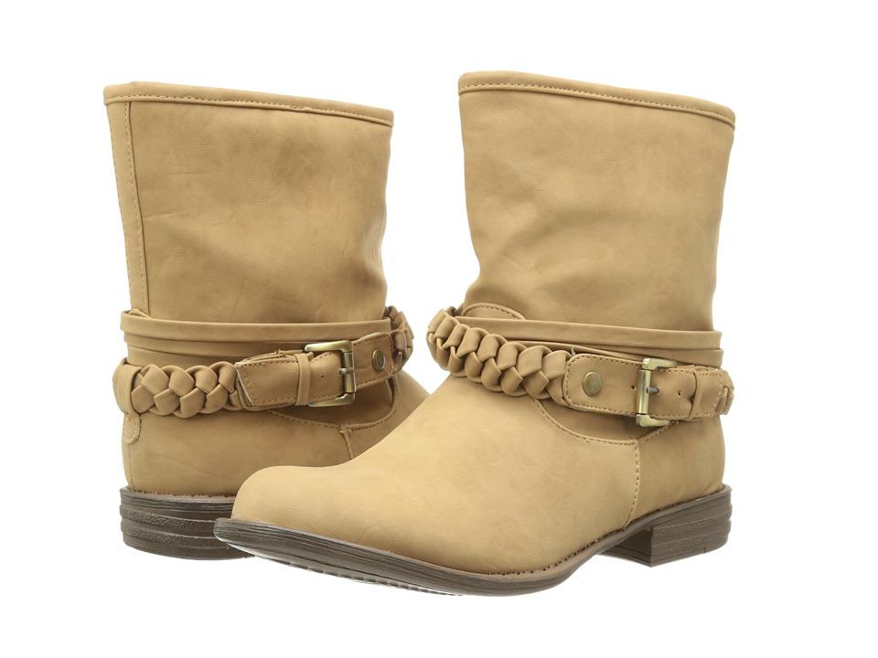 SKECHERS - Mad Dash-Braid (Tan) Women's Boots