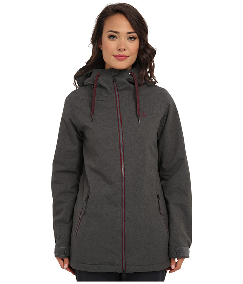 Volcom Snow - Magnum Insulated Jacket (Brushed Nickel) Women's Coat