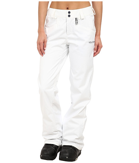 Volcom Snow - Logic Pant (White) Women's Casual Pants