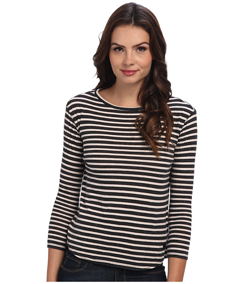 Burton - Seymour Long Sleeve Tee (Trublk Hthr Wckr Stp) Women's Long Sleeve Pullover